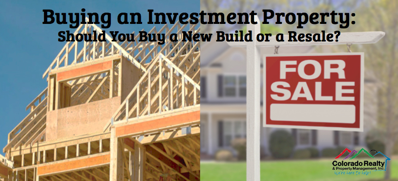 Purchase a New Build or a Resale