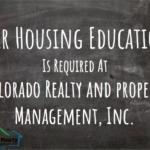 Fair Housing Education