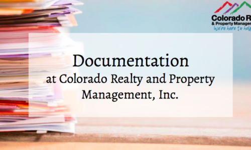 Documentation, documentation and documentation