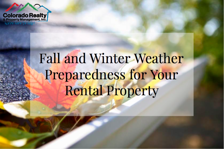 Fall and Winter Weather Preparedness in Colorado