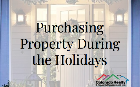 Purchasing Property During the Holidays