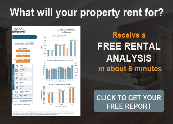 What will your property rent for - click for FREE rental analysis