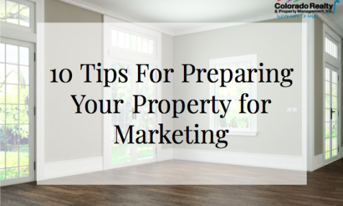 10 Tips for Preparing Your Investment Property for Marketing