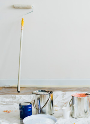 painting a rental home