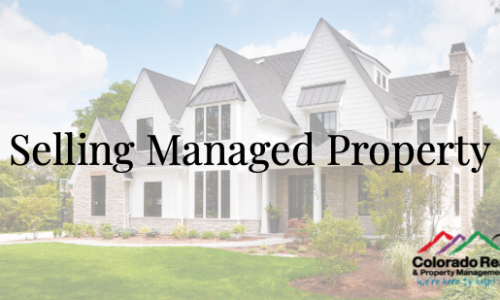 Selling Managed Property