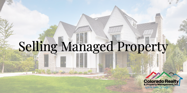Selling Managed Property in Denver CO We can help