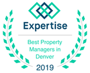 2019 Expertise Best Property Manager Denver CO award