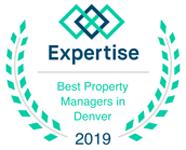 2019 Expertise Best Property Managers in Denver Award