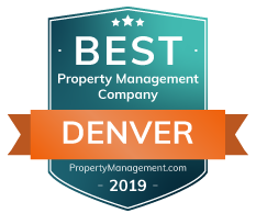 Best Property Management company in Denver CO Award