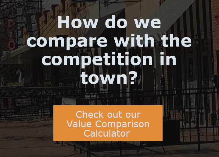 value comparison calculator for our property management services in the Denver CO area