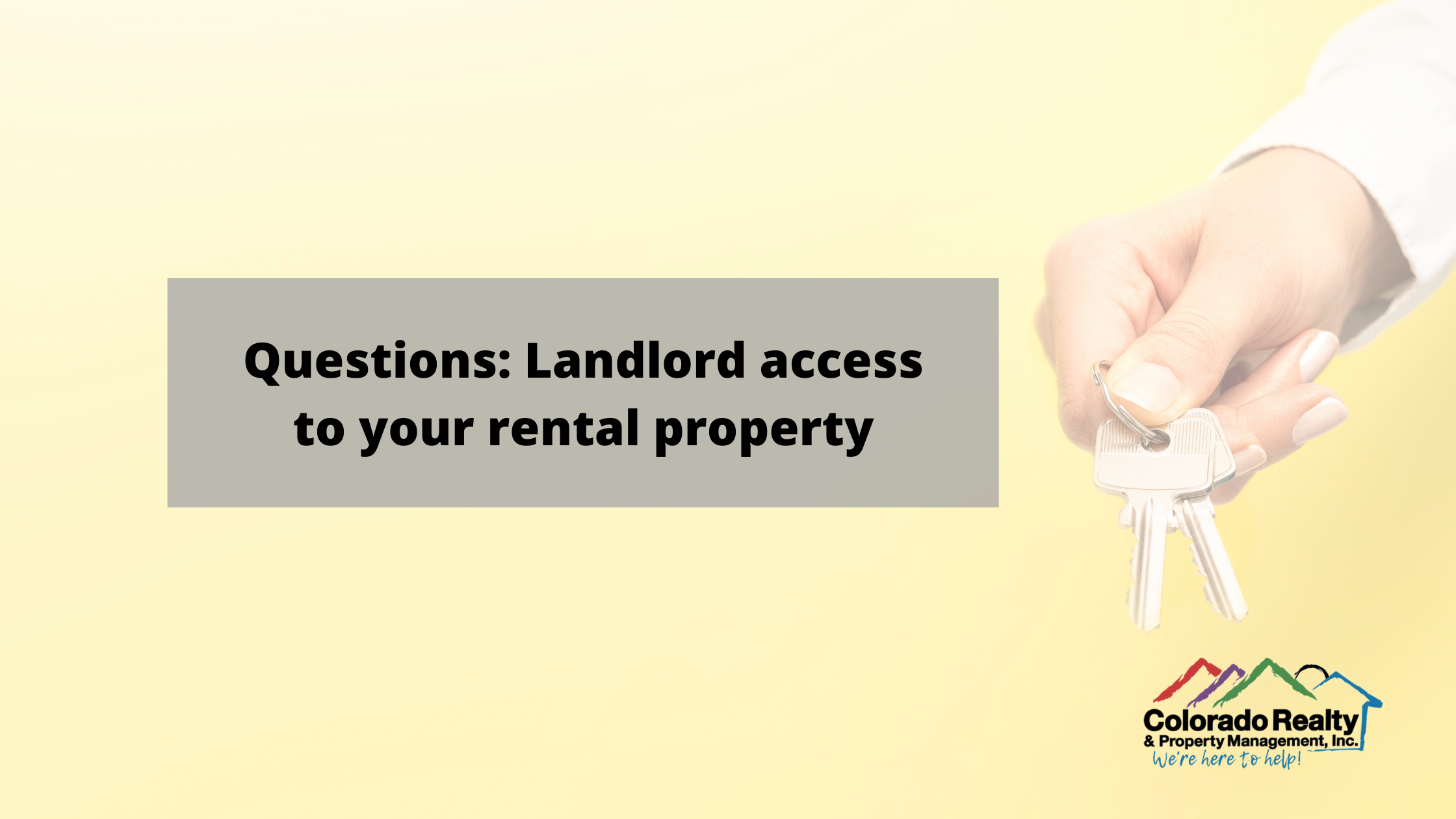 Information for tenants and residents
