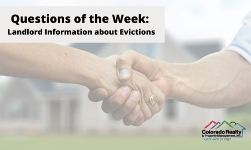 Landlord information about evictions